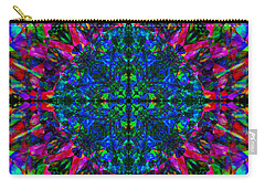 Flower Abstract 9 Carry-all Pouch by Mike McGlothlen