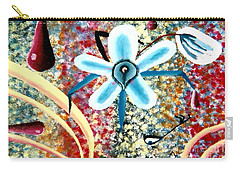 Flower And Ant Carry-all Pouch