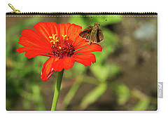 Flower And Friend Carry-all Pouch
