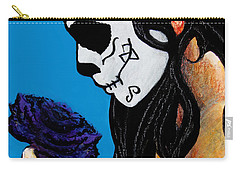 La Catrina Con La Flor Carry-all Pouch