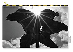 Carry-all Pouch featuring the photograph Flower Art by Zawhaus Photography