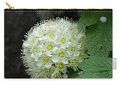Carry-all Pouch featuring the photograph Flower Ball by Rod Wiens