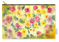 Flower Bed Carry-all Pouch