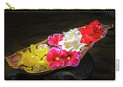 Flower Boat Carry-all Pouch