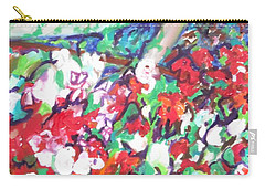 Flower Bower Carry-all Pouch