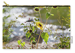 Flower By Stream Carry-all Pouch