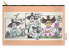 Flower-child Carry-all Pouch