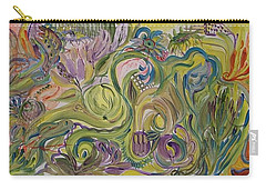 Flower Composition Carry-all Pouch