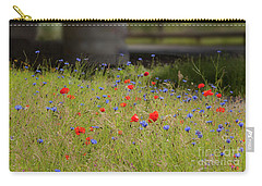 Flower Duet Carry-all Pouch
