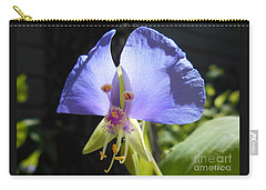 Carry-all Pouch featuring the photograph Flower Face by Felipe Adan Lerma