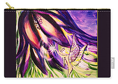Flower Faerie Carry-all Pouch