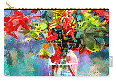 Flower Festival Carry-all Pouch