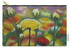 Flower Focus Carry-all Pouch