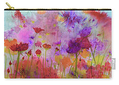 Flower Frenzy  Carry-all Pouch