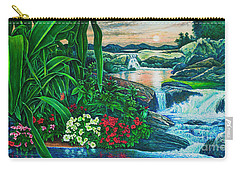 Flower Garden Ix Carry-all Pouch