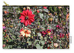 Flower Garden Carry-all Pouch by Jason Nicholas