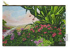 Flower Garden Vii Carry-all Pouch
