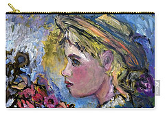 flower girl Manet Carry-all Pouch