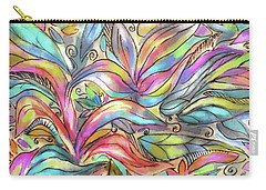 Flower Joy Carry-all Pouch