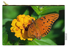 Flower Joy Carry-all Pouch by Kenneth Albin