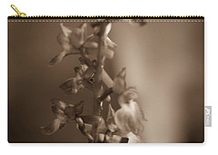 Carry-all Pouch featuring the photograph Flower by Keith Elliott