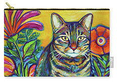 Phoebe The Flower Kitty Carry-all Pouch