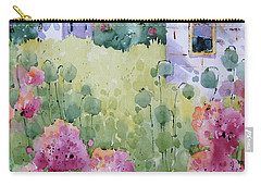 Flower Lady's Poppies Carry-all Pouch