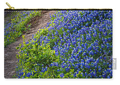 Flower Mound Carry-all Pouch by Inge Johnsson