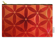 Flower Of Life  Carry-all Pouch by Serena King