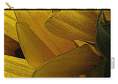 Flower Of The Sun Carry-all Pouch by I'ina Van Lawick