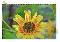 Carry-all Pouch featuring the photograph Flower Of The Sun by Kerri Farley