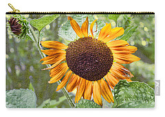 Carry-all Pouch featuring the photograph Flower Of The Sun by Larry Bishop