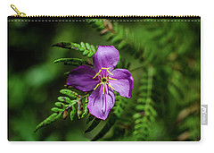 Flower On The Fern Carry-all Pouch