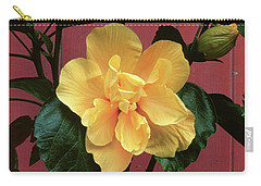 flower photographs - Yellow Rose Carry-all Pouch