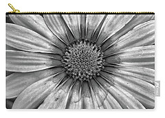 Flower Power - Bw Carry-all Pouch