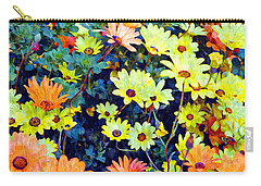 Flower Power Carry-all Pouch by Glenn McCarthy Art and Photography