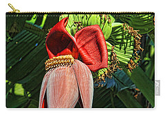 Carry-all Pouch featuring the photograph Flower Power by HH Photography of Florida