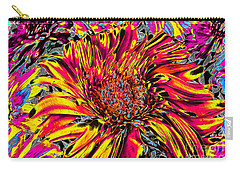 Flower Power II Carry-all Pouch