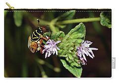 Flower Scarab - Trigonopeltastes Delta Carry-all Pouch