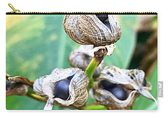 Flower Seed Pod Carry-all Pouch