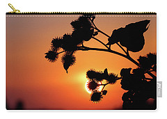 Flower Silhouette Carry-all Pouch
