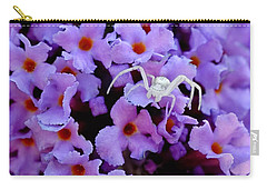 Flower Spider Carry-all Pouch
