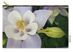 Flower With Bud Carry-all Pouch