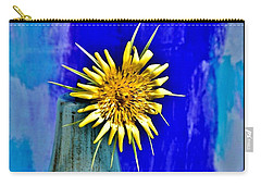Flower With Spikes Carry-all Pouch