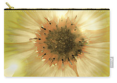 Carry-all Pouch featuring the photograph Flower World by Kathy Bassett