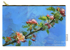 Flowering Apple Branch Carry-all Pouch
