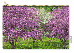 Flowering Crabapples Carry-all Pouch