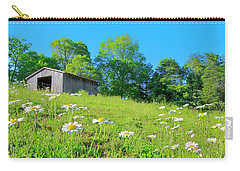 Flowering Hillside Meadow - View 2 Carry-all Pouch