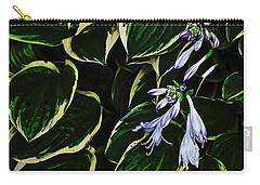 Flowering Hosta Carry-all Pouch