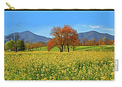 Flowering Meadow, Peaks Of Otter,  Virginia. Carry-all Pouch
